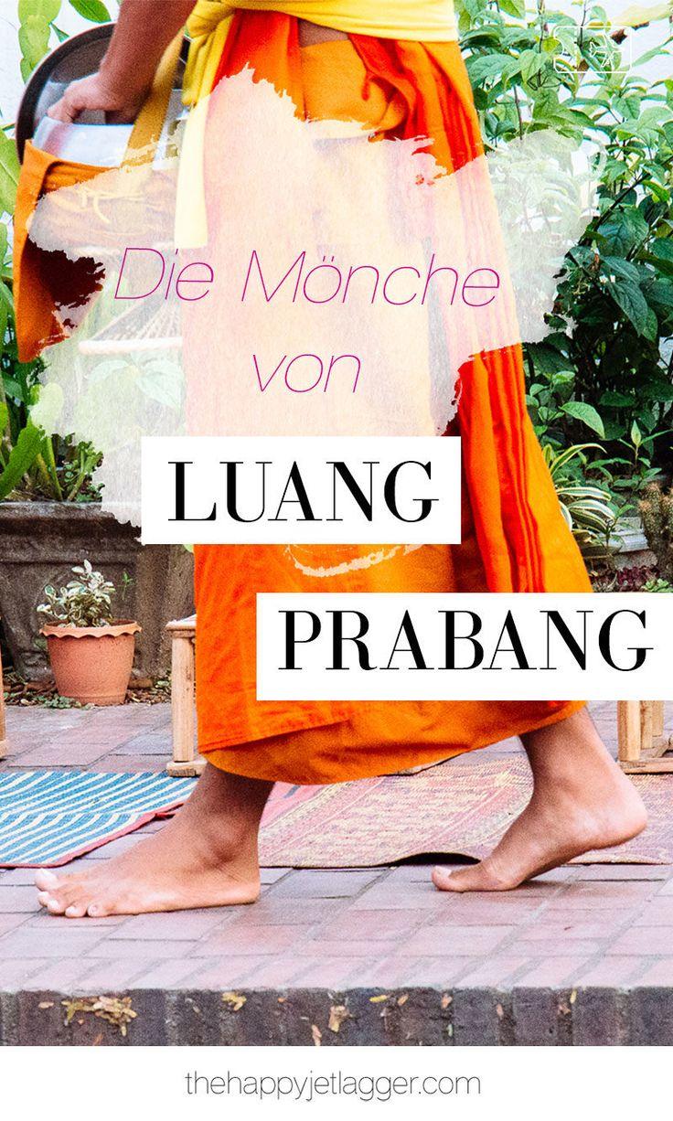Erfahre mehr über die Mönche und ihren Almosengang in Luang Prabang, Laos! Tipps und Reiseführer für Laos und Luang Prabang. Mehr auf The Happy Jetlagger. #luangprabang #laos #reise