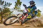 Motocross Helm Test