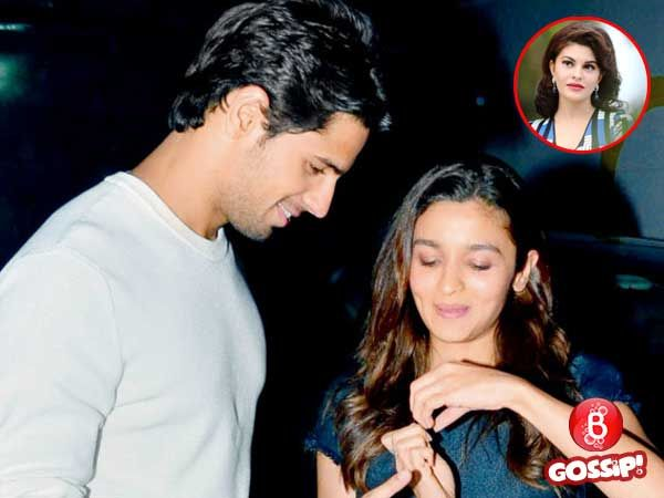 All's not well in Alia Bhatt and Sidharth Malhotra's paradise, courtesy Jacqueline Fernandez?