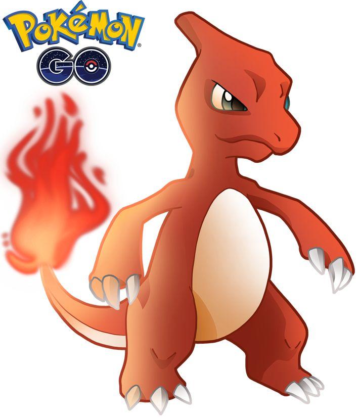Charmeleon 1 de Pokémon Go.  PNG de fondo transparente (CLIPART) 800x800 píxeles. Descarga gratis.