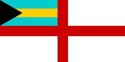 Bahamas Defense Force Flag