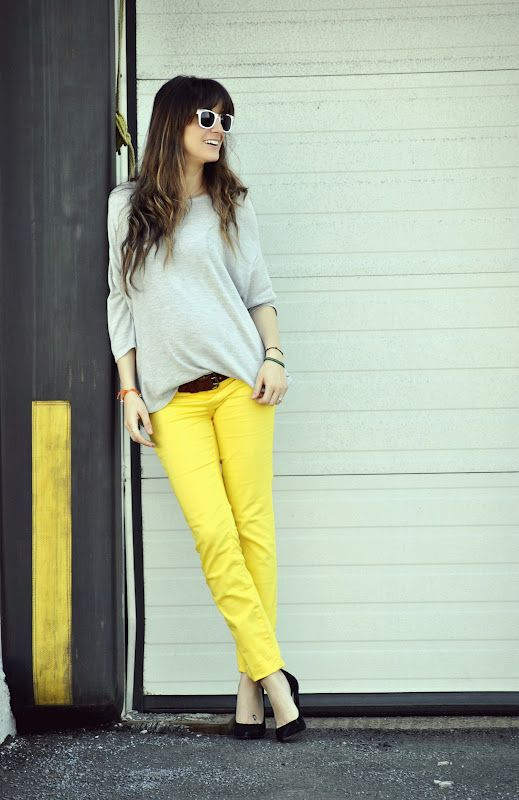 I wanna try Yellow pants