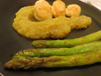 Su Delícia: Puré de batata doce na Yammi com vieiras gratinada...