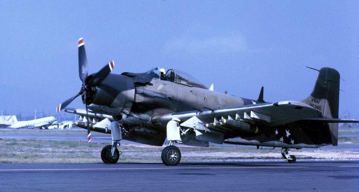 South Vietnam Air Force Douglas A-1 Skyraider.