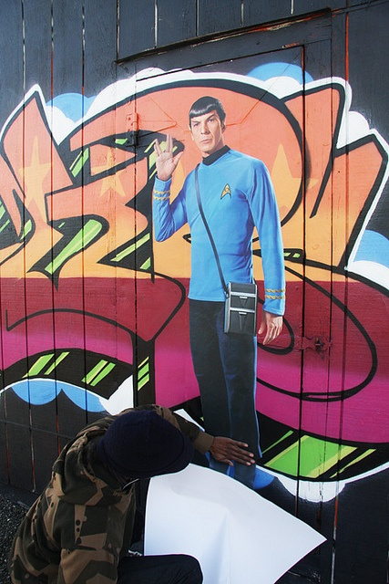 Star Trek Wall Graphic On Graffiti In SF By WALLS 360, Via Flickr Part 34
