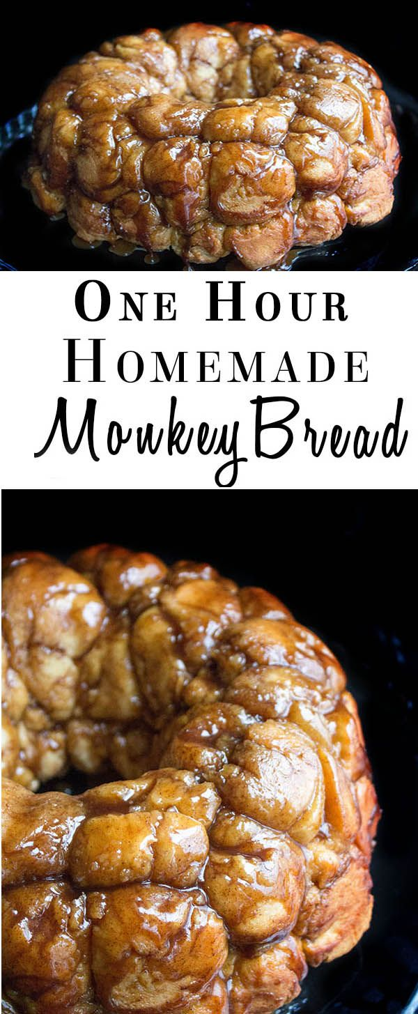 1 Hour Homemade Monkey Bread - Erren's Kitchen