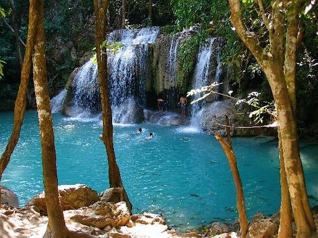 Tayland - Erawan Falls