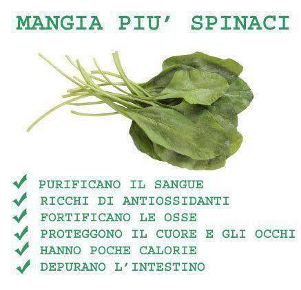 Spinaci, utili e sorprendentemente buoni ♥