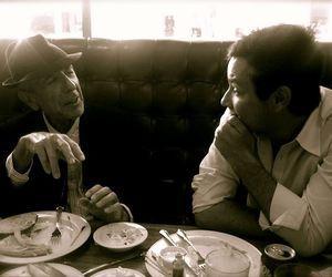 Leonard Cohen et Adam Cohen