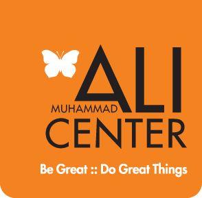 Muhammad Ali Center Logo / Reception space