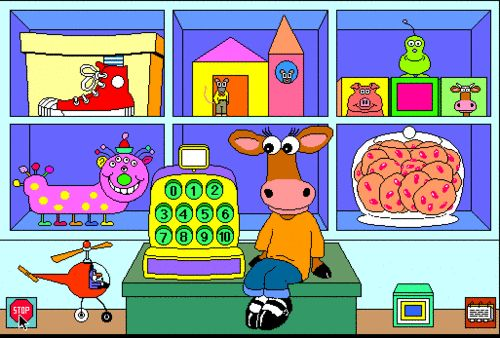 AHH millies math house! i had a power pc in elementary school (mac) and i played…