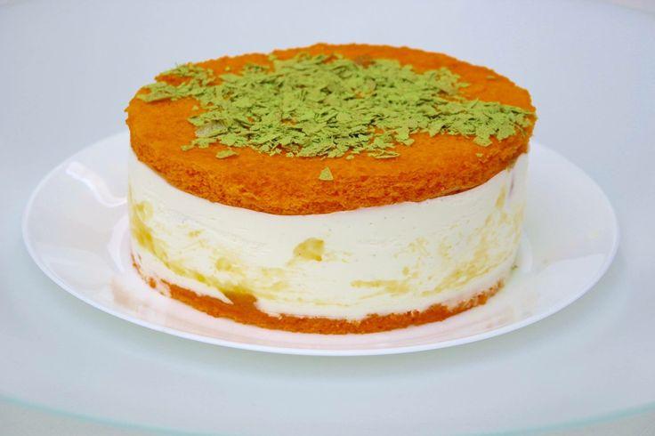 Yuzu & Mandarin Quark Pie