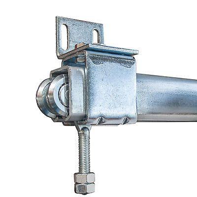 hallentor scheunentor laenge 4 m geteilt bis 150 kg wh rolltor