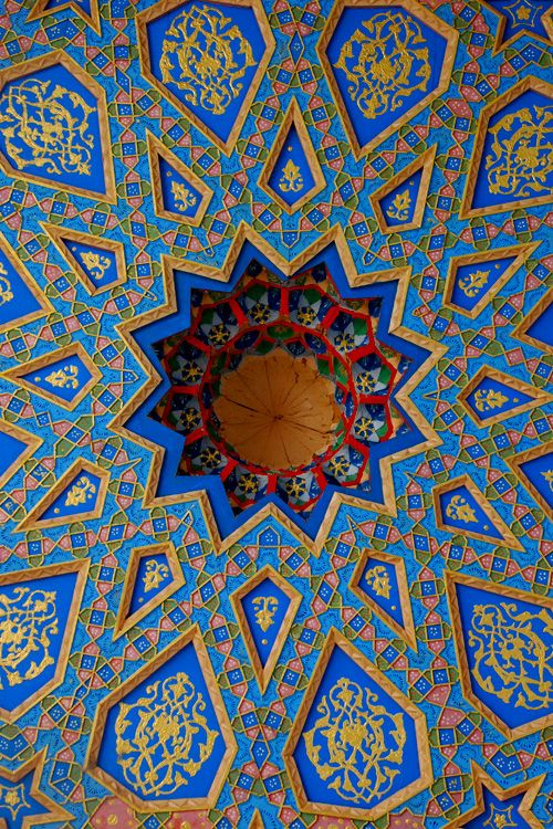 Shrine of the Sufi saint Baha al-Din al-Naqshbandi. Uzbekistan | ©Ben Smethers