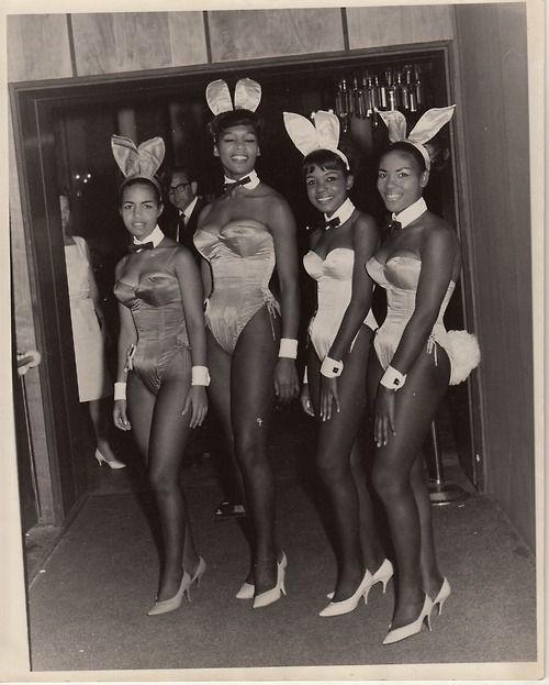 First Black Playboy bunnies.