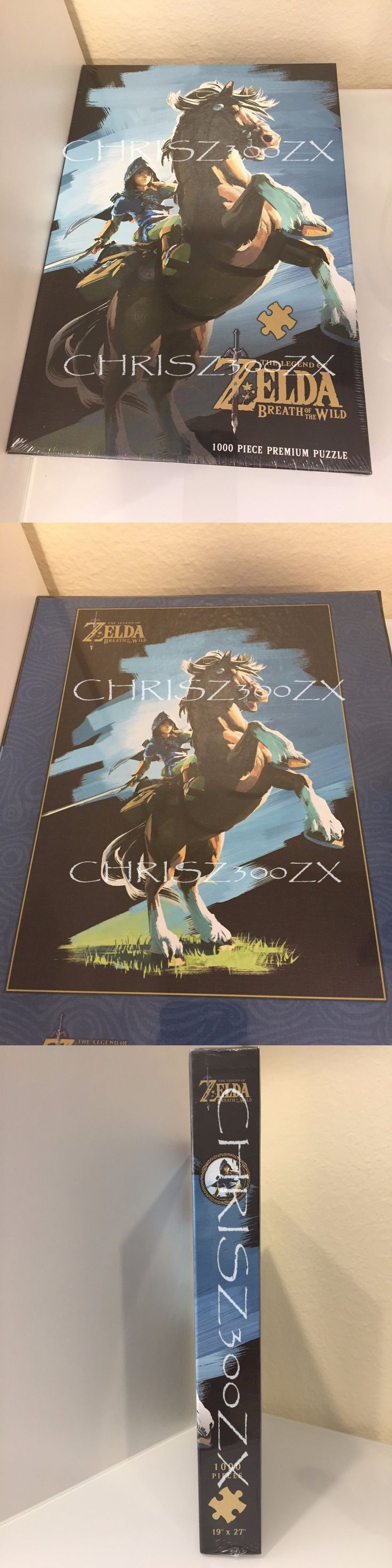 Jigsaw 19183: The Legend Of Zelda Breath Of The Wild Hero Rides Jigsaw Puzzle 1000 Pc Usaopoly -> BUY IT NOW ONLY: $33.12 on eBay!