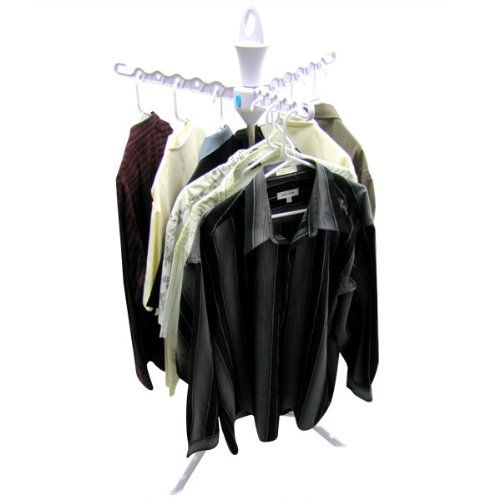 Portable Clothing Rack Camping Clothes Line Laundry Reel Tripod Hanger  Clothes Garment Rack Airer Clothes Hanger