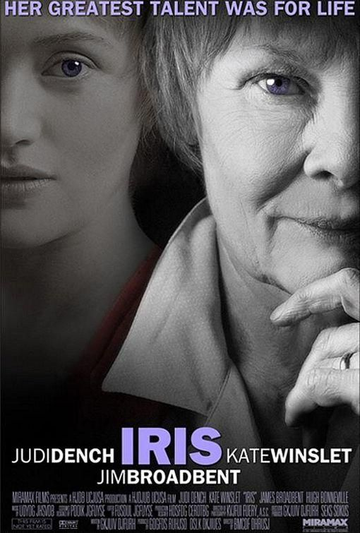 Iris (2001) A memoir of Iris Murdoch (This film will make you cry. I really want to read the book)