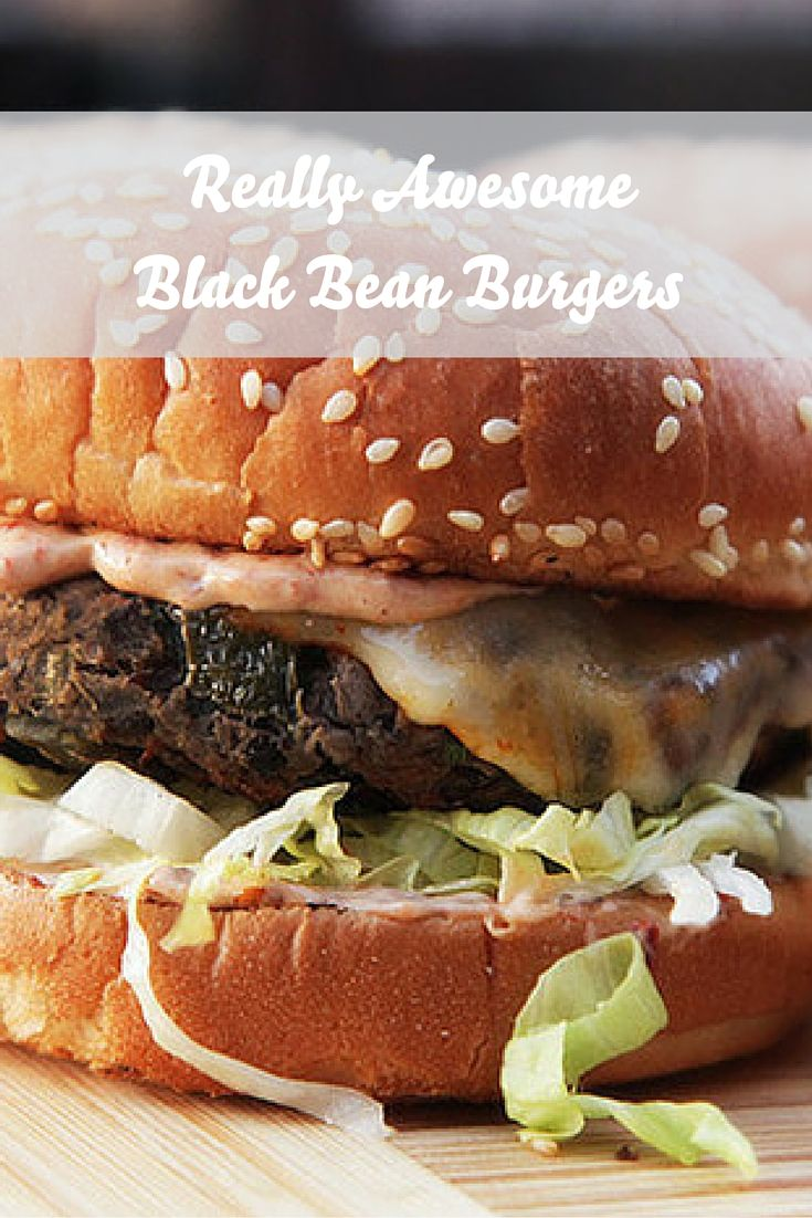 These black bean burgers have a complex, satisfying flavor and robustly meaty texture that even devout carnivores will love (seriously, try them with bacon on top).