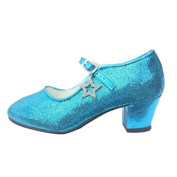 Women's Cyan Stiletto Heels Platform Pumps Mary Jane Shoes Fall Fashion Trends 2017 Fall Fashion Outfits Women Fall Fashion Wedding Dress Shoes 2017 Halloween Costumes Frozen Elsa's Costumes Outfits For Women for Formal event, Party   FSJ