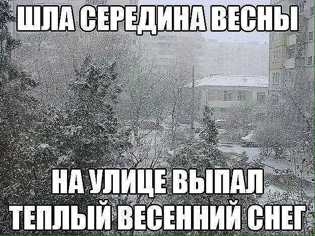 Смешные картинки о весенней погоде, пожелания везения прикольная