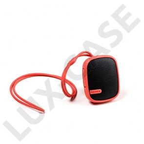 Remax RM-X2 (Punainen) Vedenkestävä Bluetooth Kaiutin