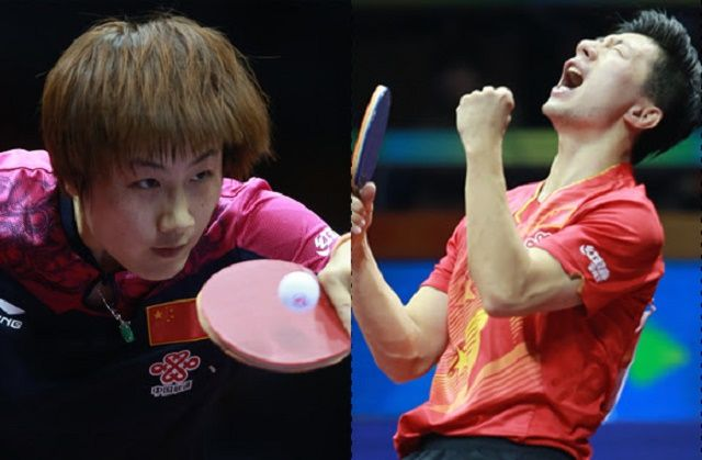 MA LONG, DING NONG LEAD RIO OLYMPIC 2016 TABLE TENNIS SEEDING