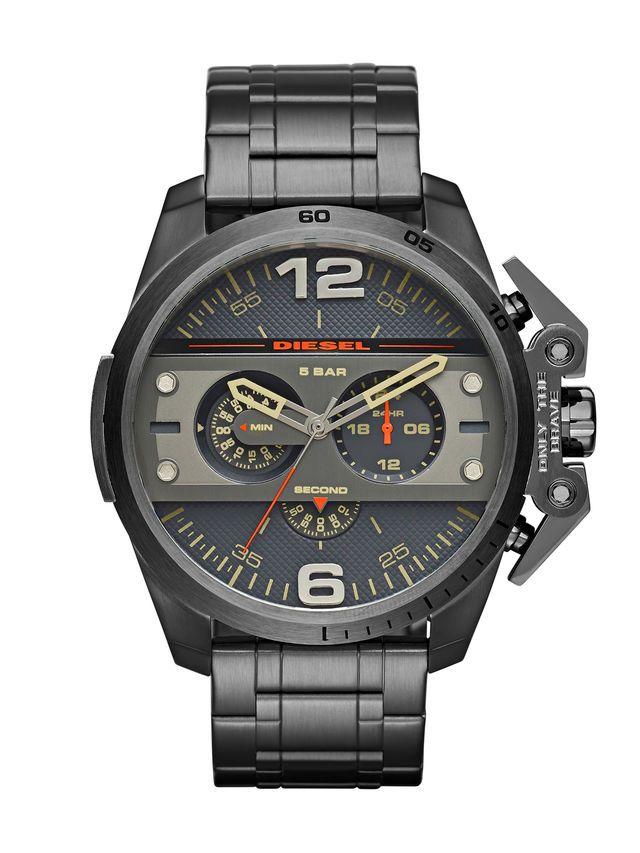 Diesel Uhren DZ4363 Ironside Chronograph Gunmetal Dial Herrenuhr