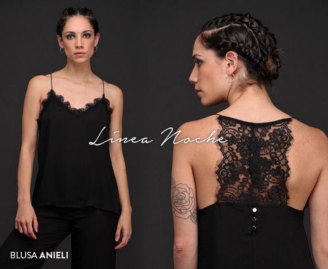 #BlusaAnieli #LineaNoche #EdiciónLimitada