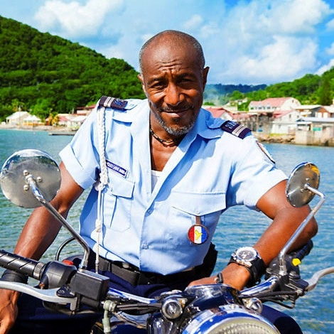 death in paradise - Danny John-Jules. So cute, still handsome no matter what.