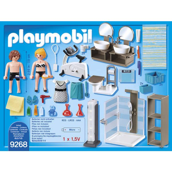Playmobil Badezimmer 5330 Playmobil Bathroom Ebay