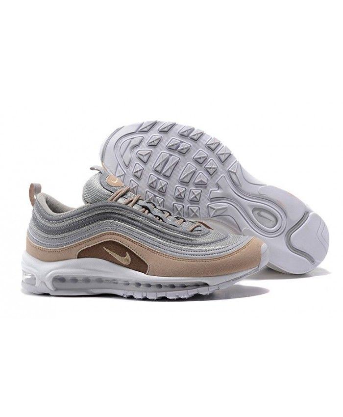 release date d5e95 3d5d2 Men's Nike Air Max 97 Shockproof Cobblestone/Cobblestone - White Trainers  Online UK