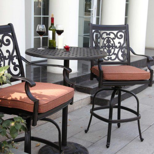 Do You Need To Be Able To See Over The Balcony? This Beautiful Bar Height. Outdoor  FurnitureHome ...