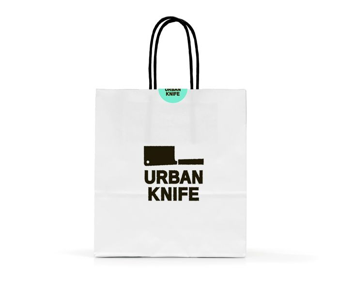 Paper Retail Grocery Bags Kraft with Handles   x x   by Duro