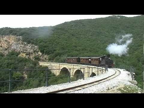 Εκδρομικός συρμός με ατμομηχανή στο Πήλιο (Greek Steam)