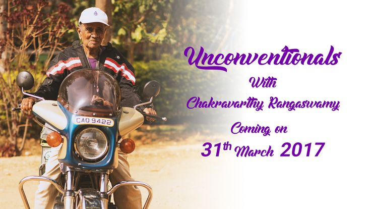 Mr Chakravarthy, worlds oldest biker shares his experiences with #Blogbeats. He truly proves age is just a number. Witness his unparallel love for biking and where his passion took him. Sign up with us and we will notify you when the full story releases on 31st March. #wonderlust #superbikes #traveldiaries