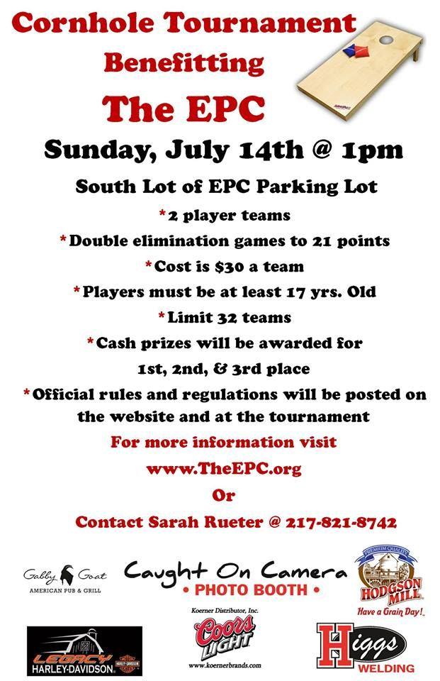 Cornhole Tournament to benefit the EPC