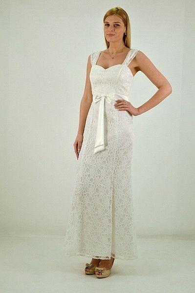 Φόρεμα μακρύ, γοργονέ γραμμή