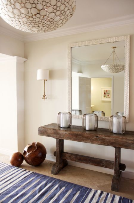 Learn: How to Hang a Mirror (the right way) and find the perfect #modern mirror on our design blog: http://blog.fabricseen.com/mirrors-for-interior-design/