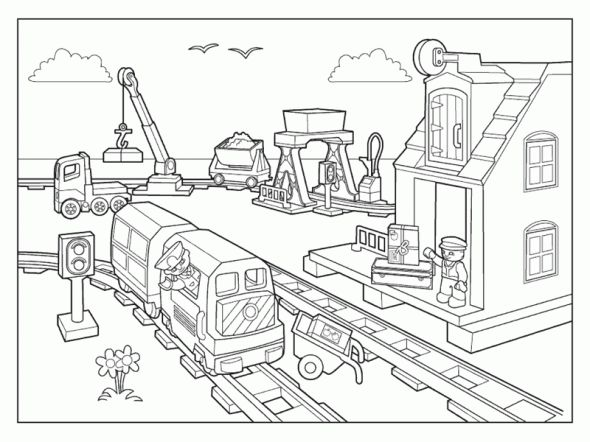 lego city coloring pages to print enjoy coloring