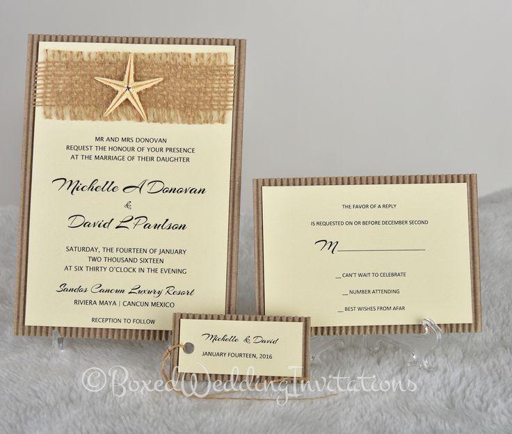 Destination wedding invitation card #wedding #invitation #destinationwedding #bride #invitationcard #beachwedding