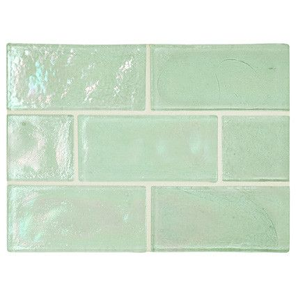 Complete Tile Collection Truegl Atlantic Green Pearl X Recycled Gl Mi Color