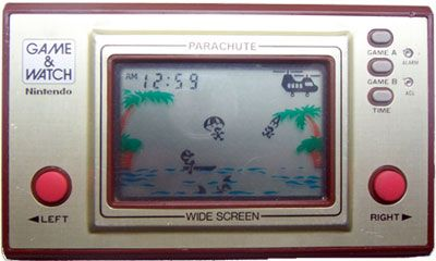 game and watch parachute