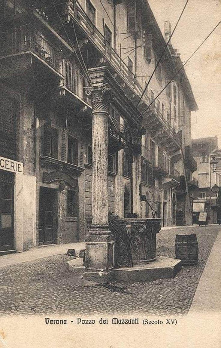 Verona - Pozzo dei Mazzanti - 1910