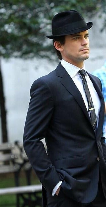 "Matt Bomer as the brilliant Neal Caffrey in ""White Collar."""