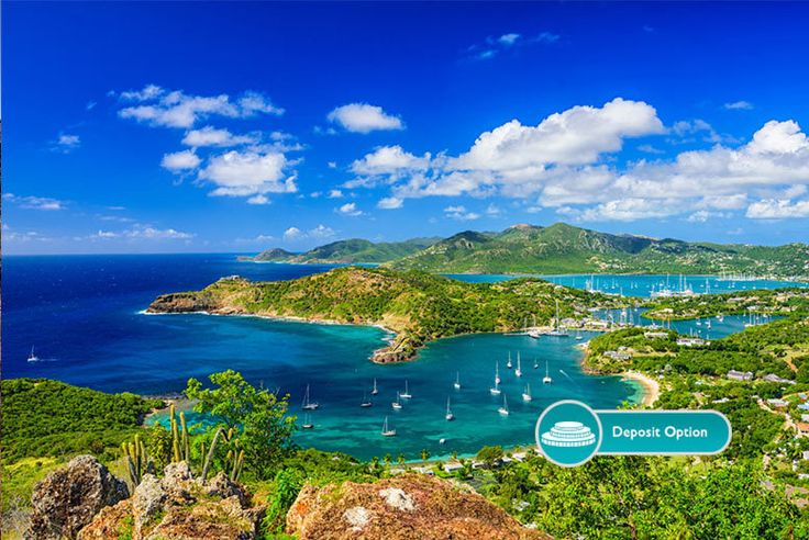 Buy 7 or 14nt All-Inclusive Antigua & Direct Flights UK deal for just £999.00 From £999pp (from Crystal Travel) for a seven-night all-inclusive Antigua stay with flights, or from £1499 for fourteen nights, or pay a £400 deposit today - save up to 30% BUY NOW for just £999.00
