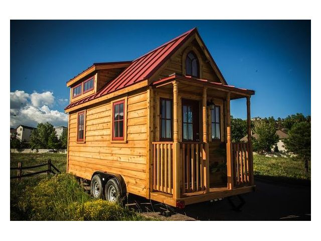 """Beautiful 18 Foot Tumbleweed Tiny Home """"Elm Outlook"""" - this is truly my much needed home"""