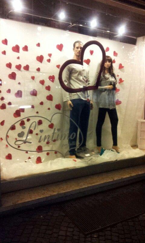 Le mie vetrine per S.Valentino