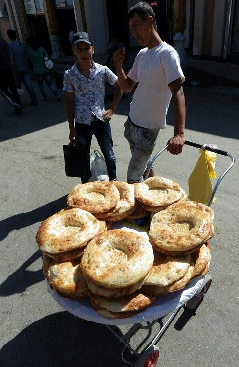 Non bread Samarkand style   Far Flung Places