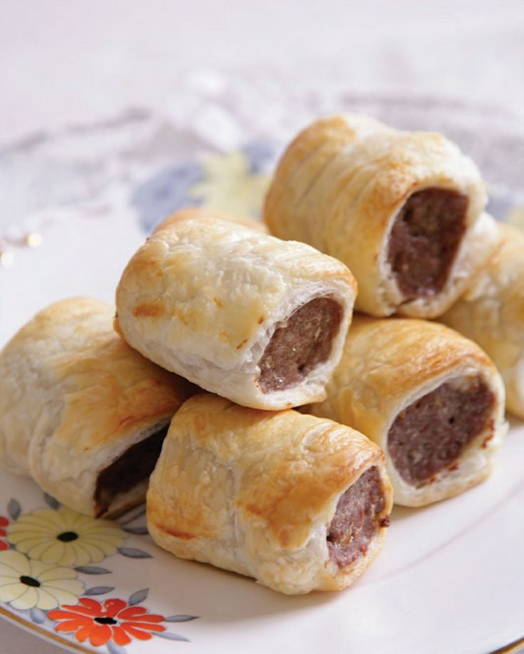 Sausage rolls recipe by Natalie Oldfield | Cooked